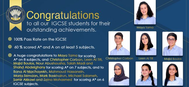 congratulations IGCSE students_1