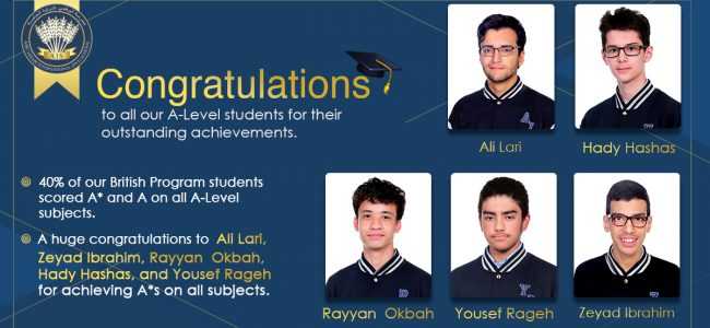 congratulations A-level students