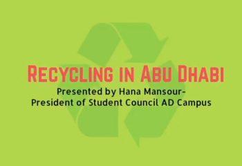 Recycling in Abu Dhabi